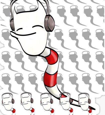 Devo Sperm Spirits Just Chillin' to music Sticker