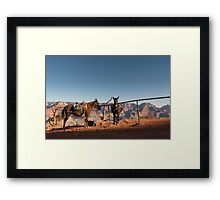All in a Day's Work – Grand Canyon National Park, Arizona Framed Print