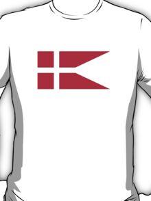 Fin Flash of the Royal Danish Air Force  T-Shirt