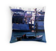 My Next Boat Is One Of Those !! Throw Pillow