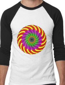 Colorful T-shirt Men's Baseball ¾ T-Shirt