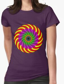 Colorful T-shirt Womens Fitted T-Shirt