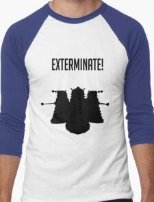 Exterminate! Dalek Silhouette  T-Shirt