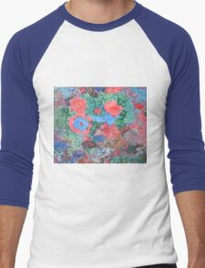 Flowers Blossoms Men's Baseball ¾ T-Shirt