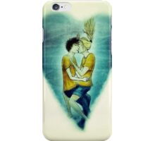 Percabeth ~ Percy Jackson and Annabeth Kissing Underwater iPhone Case/Skin