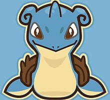 Lapras by Skull And Cubone Society