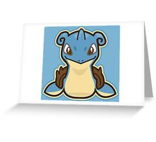 Lapras Greeting Card