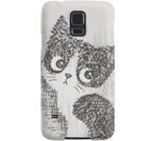 Portrait of a kitten Samsung Galaxy Case/Skin
