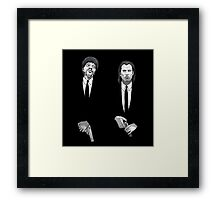 Jules and Vincent Framed Print
