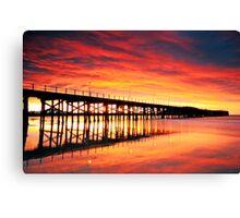 Coffs Harbour Sunrise Canvas Print