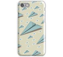 Paper Airplane 83 iPhone Case/Skin