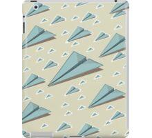 Paper Airplane 83 iPad Case/Skin