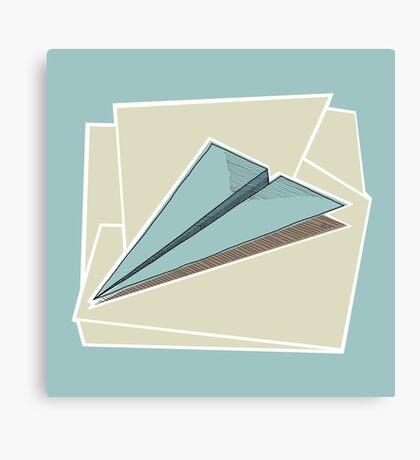 Paper Airplane 83 Canvas Print