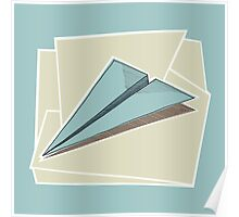 Paper Airplane 83 Poster