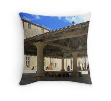 Cadouin, France Throw Pillow