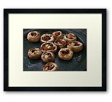 Bacon Mushrooms Framed Print