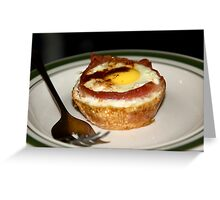Bacon and Eggs II Greeting Card