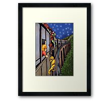 The 3:10 Express to Monster Island Framed Print