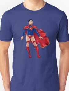 Superman dressed as Supergirl T-Shirt