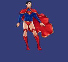 Superman dressed as Supergirl Unisex T-Shirt