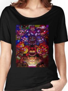 Five Nights at Freddys Women's Relaxed Fit T-Shirt