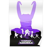 Avengers Assemble Poster Design Poster
