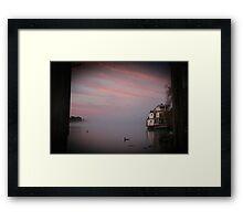 Marion in the Mist Framed Print