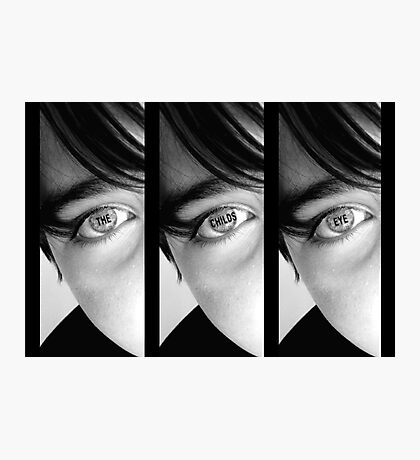 The Childs Eye Photographic Print