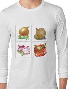 Happy Onions Long Sleeve T-Shirt