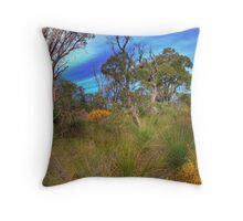 Colourful Bush Throw Pillow