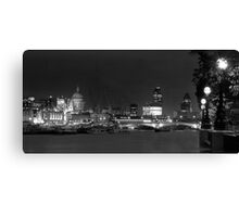 S Pauls from the Southbank Canvas Print