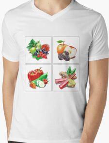 Farmers Market Collection Mens V-Neck T-Shirt