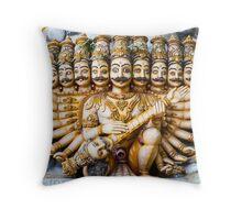 Rāvaṇa Trincomalee Throw Pillow