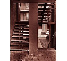Bloodied Stairwell Photographic Print