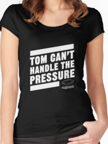 Deflate Gate - Tom Can't Handle the Pressure Women's Fitted Scoop T-Shirt