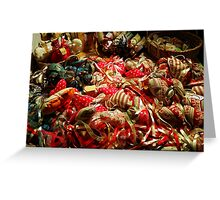 Ribbons and Hearts - Aix-en-Provence Market Greeting Card