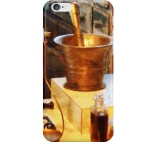 Brass Mortar And Pestle iPhone Case/Skin