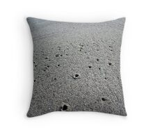 Peep holes Throw Pillow