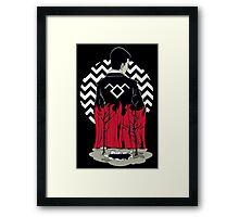 Black Lodge Framed Print