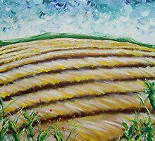 Le blé est à plat by Julie Lebrun