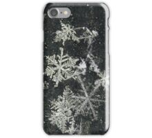 Snow Flakes by Design. iPhone Case/Skin