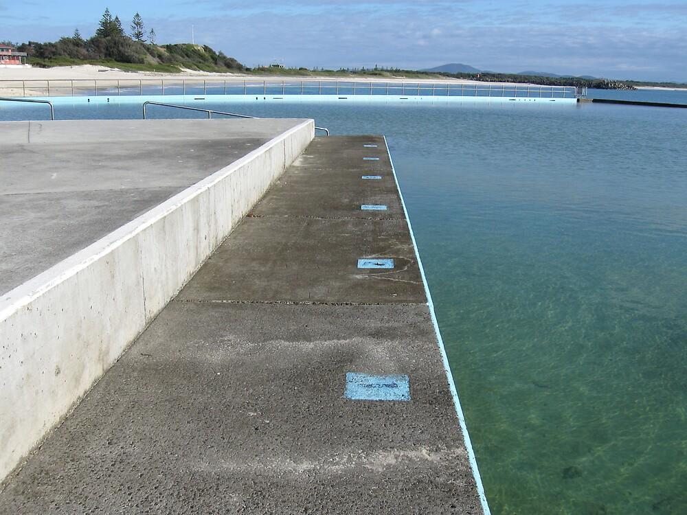 Inline for a swim by Judy Woodman