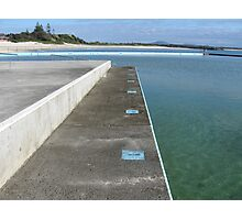 Inline for a swim Photographic Print
