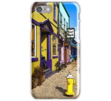 The Colorful Sidewalks Of Newport iPhone Case/Skin