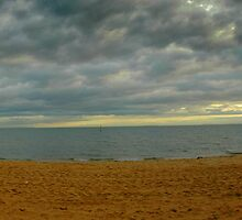 St Kilda Beach by Claye Herdman