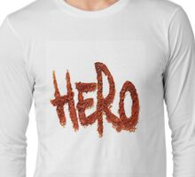 Graffiti Hero T Shirt Long Sleeve T-Shirt