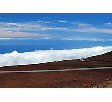 Road Above the Clouds Photographic Print