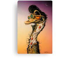 Elvis Emu Canvas Print