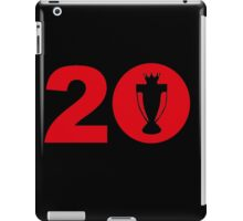 Manchester United 20 Titles iPad Case/Skin
