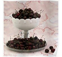 Cherries Still Life Poster